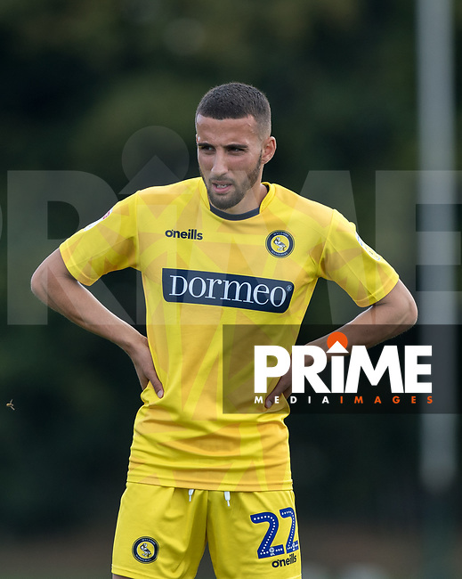 Nick Freeman of Wycombe Wanderers during the behind closed doors friendly between Brentford B and Wycombe Wanderers at Brentford Football Club Training Ground & Academy, 100 Jersey Road, TW5 0TP, United Kingdom on 3 September 2019. Photo by Andy Rowland.