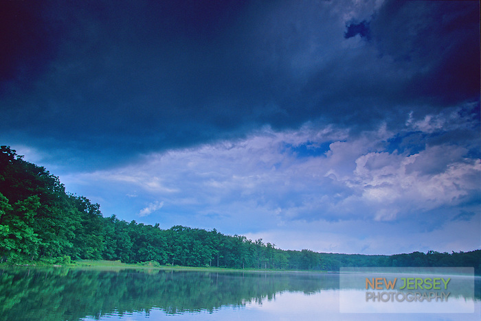 Approaching Storm, Saw Mill Lake, High Point State Park, New Jersey