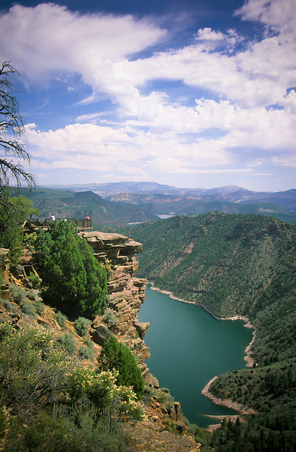 Boating and fishing recreation offered at spectacular Flaming Gorge Canyon located on traditional homelands of the Ute Indians and close to the  Uintah and Ouray Reservation, Fort Duchesne Utah.