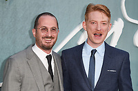"director, Darren Aronofsky and Domhnall Gleeson<br /> arriving for the ""Mother!"" premiere at the Odeon Leicester Square, London<br /> <br /> <br /> ©Ash Knotek  D3305  06/09/2017"