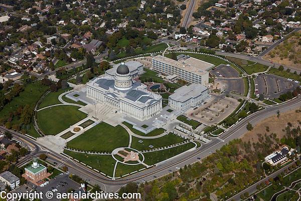 aerial photograph State Capitol, Salt Lake City, Utah