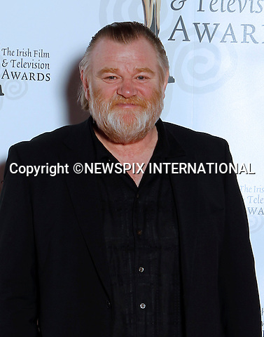 "BRENDAN GLEESON.at the 9th Annual Irish Film and Television Awards, Convention Centre, Dublin_12/02/2012.Mandatory Photo Credit: ©Kopix/NEWSPIX INTERNATIONAL..**ALL FEES PAYABLE TO: ""NEWSPIX INTERNATIONAL""**..PHOTO CREDIT MANDATORY!!: NEWSPIX INTERNATIONAL(Failure to credit will incur a surcharge of 100% of reproduction fees)..IMMEDIATE CONFIRMATION OF USAGE REQUIRED:.Newspix International, 31 Chinnery Hill, Bishop's Stortford, ENGLAND CM23 3PS.Tel:+441279 324672  ; Fax: +441279656877.Mobile:  0777568 1153.e-mail: info@newspixinternational.co.uk"