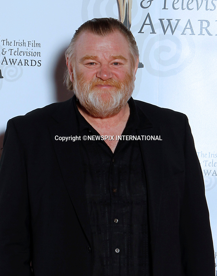 """BRENDAN GLEESON.at the 9th Annual Irish Film and Television Awards, Convention Centre, Dublin_12/02/2012.Mandatory Photo Credit: ©Kopix/NEWSPIX INTERNATIONAL..**ALL FEES PAYABLE TO: """"NEWSPIX INTERNATIONAL""""**..PHOTO CREDIT MANDATORY!!: NEWSPIX INTERNATIONAL(Failure to credit will incur a surcharge of 100% of reproduction fees)..IMMEDIATE CONFIRMATION OF USAGE REQUIRED:.Newspix International, 31 Chinnery Hill, Bishop's Stortford, ENGLAND CM23 3PS.Tel:+441279 324672  ; Fax: +441279656877.Mobile:  0777568 1153.e-mail: info@newspixinternational.co.uk"""