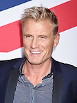 HOLLYWOOD, CA - MARCH 01: Actor Dolph Lundgren attends the premiere of Focus Features' 'London Has Fallen' held at ArcLight Cinemas Cinerama Dome on March 1, 2016 in Hollywood, California.