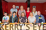 Birthday girl Rachel O'Mahony celebrating her 23rd birthday originally from Tralee now living in London celebrates with family at Ristorante Uno on Thursday Pictured front Lukas O'Mahony, Gregory O'Mahony, Rachel O'Mahony, Marie O'Mahony, Paul O'Mahony, Back L to R Adam O'Mahony, Catherine O'Mahony, Ester O'Mahony, Chloe Moynihan.
