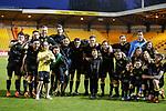 11.05.2018 Livingston v Dundee Utd: Livingston team celebrate