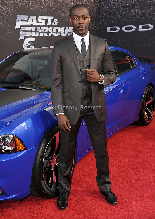 "David Ajala at the Los Angeles premiere of ""Fast And Furious 6"" at Universal CityWalk May 21, 2013"