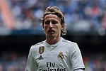 Real Madrid's Luka Modric during La Liga match between Real Madrid and Athletic Club de Bilbao at Santiago Bernabeu Stadium in Madrid, Spain. April 21, 2019. (ALTERPHOTOS/A. Perez Meca)