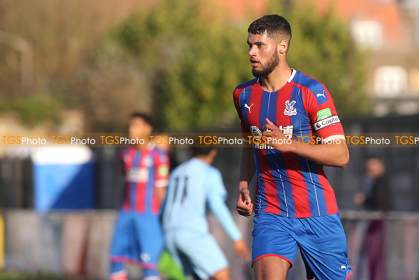 Jay Rich-Baghuelou of Crystal Palace during Crystal Palace Under-23 vs Burnley Under-23, Premier League Cup Football at Champion Hill Stadium on 6th February 2020
