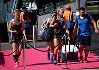 Nertherlands arrive at the arena<br /> <br /> Photographer Hannah Fountain/CameraSport<br /> <br /> Vitality Hockey Women's World Cup - Ireland v Spain - Saturday 4th August 2018 - Lee Valley Hockey and Tennis Centre - Stratford<br /> <br /> World Copyright &copy; 2018 CameraSport. All rights reserved. 43 Linden Ave. Countesthorpe. Leicester. England. LE8 5PG - Tel: +44 (0) 116 277 4147 - admin@camerasport.com - www.camerasport.com