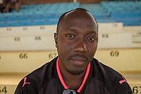 Jean-Marie Mukasa, Vorsitzender des offiziellen Arsenal-London-Fanklubs in Kigali, Ruanda. Das Land ist ab der Saison 2018/19 Trikotsponsor des Top-Vereins
