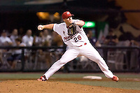 July 15, 2009: Memphis Redbirds pitcher Jess Todd during the 2009 Triple-A All-Star Game at PGE Park in Portland, Oregon.