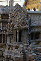Angkor Wat Model In Grand Palace, Bangkok, Thailand