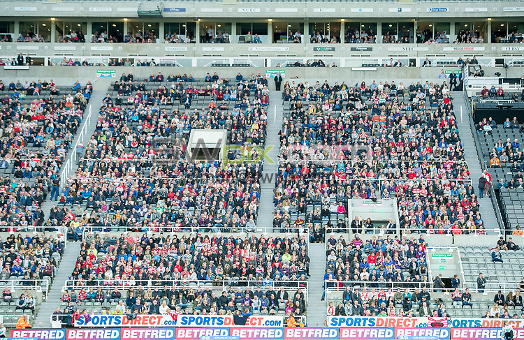 Picture by Allan McKenzie/SWpix.com - 20/05/2017 - Rugby League - Dacia Magic Weekend - St James' Park, Newcastle, England - The brief, GV, general view, fans, supporters.
