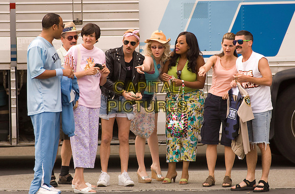 CEDRIC YARBROUGH, CARLOS ALAZRAQUI, KERRI KENNEY-SILVER, TOMAS LENNON, WENDI McLENDON-COVEY, NIECY NASH, MARY BIRDSONG & ROBERT BEN GARANT.in Reno 911!: Miami .**Editorial Use Only**.CAP/FB.Supplied by Capital Pictures