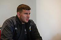 Elliot Dee of Wales during the Wales Press Conference at The Vale Resort in Cardiff, Wales, UK.Thursday 28 February 2019