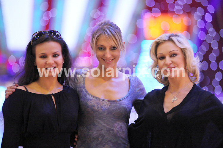 **ALL ROUND PICTURES FROM SOLARPIX.COM**.**WORLDWIDE SYNDICATION RIGHTS**.Stars from the Strictly come dancing tour at the LG Arena in Birmingham, UK. 21 January 2010..This pic: Lilya Kopyliva, Ali Bastian and Kristina Rihanoff..JOB REF: 10528 NYA     DATE: 21_01_2010.**MUST CREDIT SOLARPIX.COM OR DOUBLE FEE WILL BE CHARGED**.**MUST NOTIFY SOLARPIX OF ONLINE USAGE**.**CALL US ON: +34 952 811 768 or LOW RATE FROM UK 0844 617 7637**