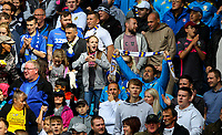 Leeds United fans enjoy the atmosphere<br /> <br /> Photographer Alex Dodd/CameraSport<br /> <br /> The EFL Sky Bet Championship - Leeds United v Swansea City - Saturday 31st August 2019 - Elland Road - Leeds<br /> <br /> World Copyright © 2019 CameraSport. All rights reserved. 43 Linden Ave. Countesthorpe. Leicester. England. LE8 5PG - Tel: +44 (0) 116 277 4147 - admin@camerasport.com - www.camerasport.com