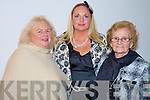 Enjoying the Fossa fashion show in the Europe Hotel, Killarney on Tuesday were Noreen and Sharon Heffernan with Anne Butler.