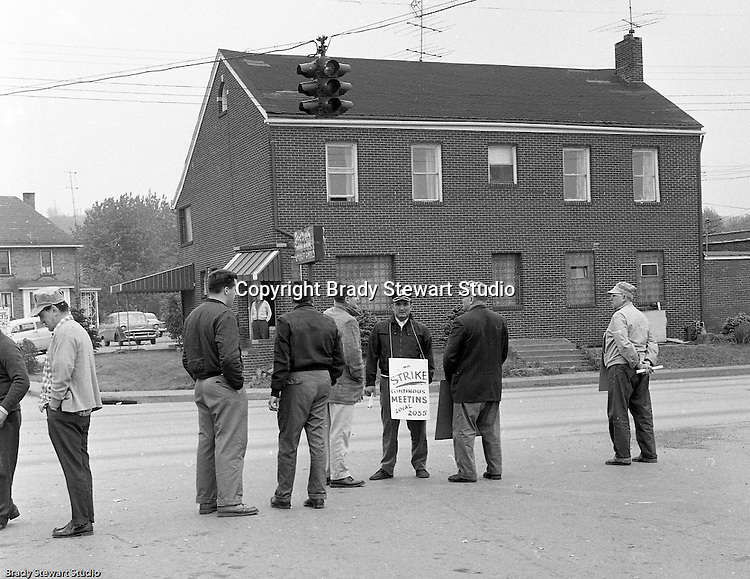 Conway PA: A dispute over an unfair scope rule and a job classification clause in a Pennsylvania Railroad contract had been simmering for more than three years when TWU decided it was time to take action. At 12:01 a.m., on September 1, 1960 picket-lines surrounded the company, creating the first strike against the Pennsylvania Railroad in its 114-year history.  <br />