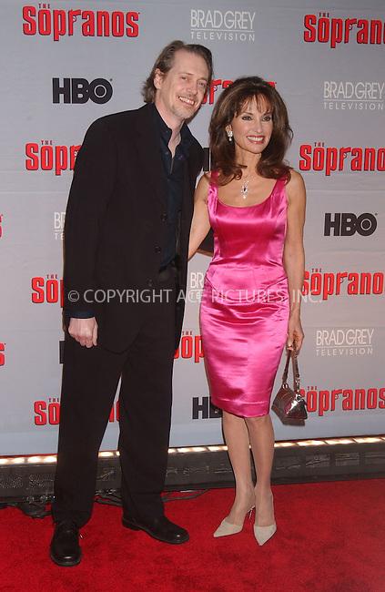 WWW.ACEPIXS.COM . . . . .....March 27, 2007. New York City......Steve Buscemi and Susan Lucci attend 'The Sopranos' World Premiere held at Radio City Music Hall.  ....Please byline: Kristin Callahan - ACEPIXS.COM..... *** ***..Ace Pictures, Inc:  ..Philip Vaughan (646) 769 0430..e-mail: info@acepixs.com..web: http://www.acepixs.com