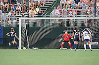 Allston, MA - Sunday July 17, 2016: Sarah Killion, Jami Kranich during a regular season National Women's Soccer League (NWSL) match between the Boston Breakers and Sky Blue FC at Jordan Field.