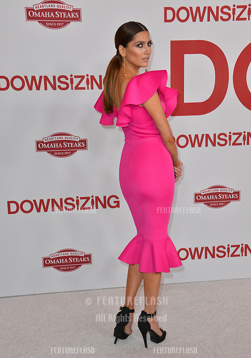 Blanca Blanco at the special screening of &quot;Downsizing&quot; at the Regency Village Theatre, Westwood, USA 18 Dec. 2017<br /> Picture: Paul Smith/Featureflash/SilverHub 0208 004 5359 sales@silverhubmedia.com