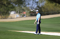 Austin Cook (USA) during the 1st round of the Waste Management Phoenix Open, TPC Scottsdale, Scottsdale, Arisona, USA. 31/01/2019.<br /> Picture Fran Caffrey / Golffile.ie<br /> <br /> All photo usage must carry mandatory copyright credit (&copy; Golffile | Fran Caffrey)