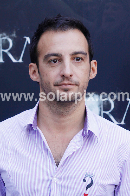 "**ALL ROUND PICTURES FROM SOLARPIX.COM**.**WORLDWIDE SYNDICATION RIGHTS EXCLUDING SPAIN - NO PUBLICATION IN SPAIN**.Photocall for the film ""Agora"", with actors and the director, Madrid, Spain. 6 October 2009.This pic: Alejandro Amenabar..JOB REF: 10070 MCT       DATE: 06_10_2009.**MUST CREDIT SOLARPIX.COM OR DOUBLE FEE WILL BE CHARGED**.**MUST NOTIFY SOLARPIX OF ONLINE USAGE**.**CALL US ON: +34 952 811 768 or LOW RATE FROM UK 0844 617 7637**"