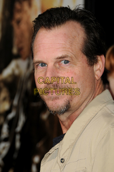 "BILL PAXTON.HBO's ""The Pacific"" Mini-Series Premiere held at Grauman's Chinese Theatre, Hollywood, California, USA..February 24th, 2010.headshot portrait black beige top facial hair  goatee .CAP/ADM/BP.©Byron Purvis/AdMedia/Capital Pictures."