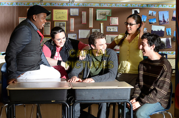 ALEX NEWELL, NIKKI BLONSKY, CAMERON DEANE STEWART, ALLY MAKI, TEO OLIVARES<br /> in Geography Club (2013)<br /> *Filmstill - Editorial Use Only*<br /> CAP/FB<br /> Image supplied by Capital Pictures