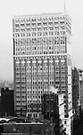 Pittsburgh PA:  View of the new Farmer's Bank building from the roof of the Empire Building.  Building was completed in 1903 and had 24 stories.  It was demolished in 1997.