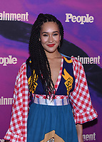 NEW YORK, NEW YORK - MAY 13: Olivia Lucy Phillip attends the People & Entertainment Weekly 2019 Upfronts at Union Park on May 13, 2019 in New York City. <br /> CAP/MPI/IS/JS<br /> ©JS/IS/MPI/Capital Pictures
