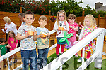 Pictured at the Ice Cream Party held in Puffins Child Care Centre in Cahersiveen on Saturday in aid of Down Syndrome Ireland were l-r; Sebastian Lesniak, Andrez Lesniak, Aisling O'Sullivan, Naomi O'Sullivan & Siobhan O'Sullivan.
