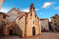 St Luke church, St Lukes Square, Kotor Montenegro