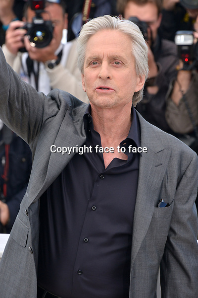 """Michael Douglas (Actor) attending the """"BEHIND THE CANDELABRA"""" Photocall during the 66th annual International Cannes Film Festival in Cannes, France, 21th May 2013. Credit: Timm/face to face"""