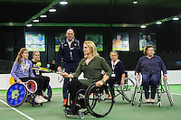 ABN AMRO World Tennis Tournament, Rotterdam, The Netherlands, 13 februari, 2017, Esther Vergeer (NED)<br /> Photo: Henk Koster