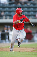 August 13, 2009: Carlos Ramirez of the Orem Owlz.The Owlz are the Pioneer League affiliate for the Los Angeles Angels. Photo by: Chris Proctor/Four Seam Images