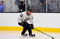 September 15, 2017: Boston Bruins left wing Matt Beleskey (39) skates during the Boston Bruins training camp held at Warrior Ice Arena in Brighton, Massachusetts. Eric Canha/CSM