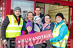 Willie and Aoibhéann Cotter, Maria and Jack Scollard, John Paul. Catherine and Margaret Curtin at the Castleisland Walk and talk on Saturday