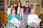 Pictured at the launch of the 2013 nostalgic calendar in Bricin Restaurant, Killarney on Monday night were Mary and Patrick McCarthy, Johnny McGuire, Honor O'Leary Doyle, Sheilagh O'Connor, Maureen Culloty and Donal Culloty.......................