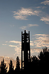 Carillon Bell tower at sunset..August 26, 2006..Photography by Mark A. Philbrick..Copyright BYU Photo 2006 .All Rights Reserved .photo@byu.edu  (801)422-7322