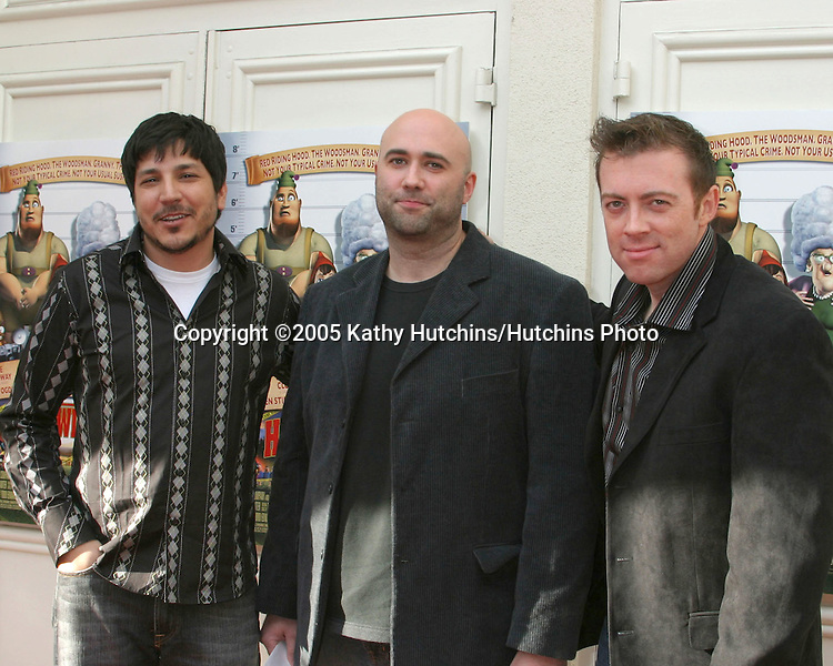 Hoodwinked Filmmakers.Hoodwinked Premiere.Festival Theater.Westwood, CA.December 10, 2005.©2005 Kathy Hutchins / Hutchins Photo
