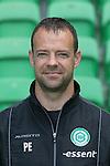 sportfysio Peter Eppinga of FC Groningen,
