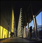La nuova città di Torino, completata per le olimpiadi del 2006. L'Area di Parcodora.