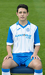 St Johnstone FC Season 2017-18 Photocall<br />Daniel Jardine<br />Picture by Graeme Hart.<br />Copyright Perthshire Picture Agency<br />Tel: 01738 623350  Mobile: 07990 594431