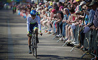 Johan Esteban Chaves (COL/Orica-GreenEDGE) finishing a good prologue, putting time into some main competitors for the GC already.<br /> <br /> stage 1: Apeldoorn prologue 9.8km<br /> 99th Giro d'Italia 2016