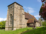 Village parish church of Saint Nicolas, Stanningfield Suffolk, England, UK