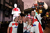 4th November 2017, Sydney Football Stadium, Sydney, Australia; Rugby League World Cup, England versus Lebanon; English fans pose for selfies before the game