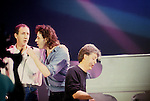 Pete Townsend, Bob Geldof, Paul McCartney at Live Aid England 1985